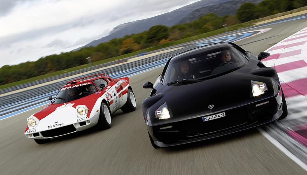 New Lancia Stratos : il a voulu faire revivre le mythe