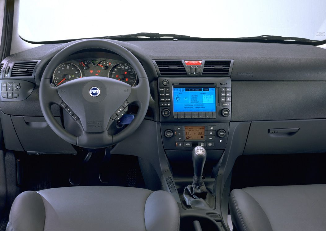 fiat stilo interieur