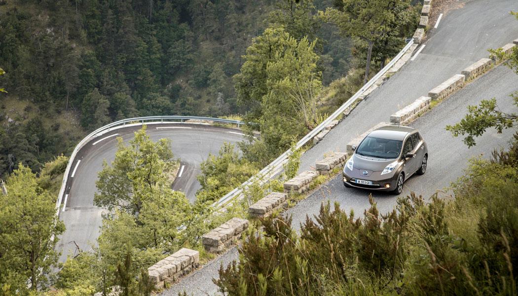 11,99 kWh / 100 km en Nissan Leaf 30 kWh