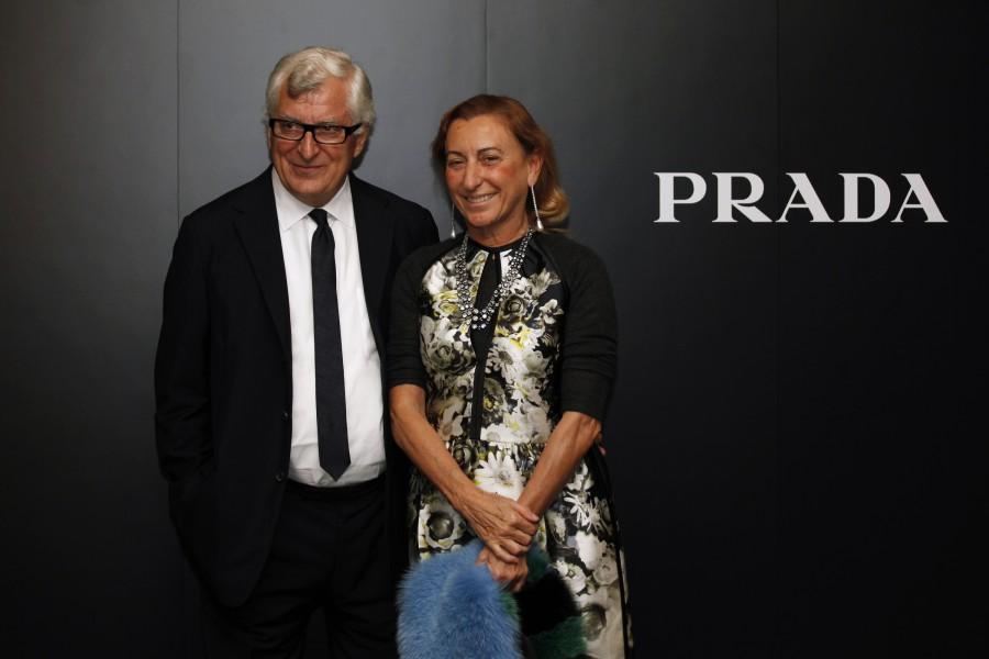 "Les parents de Lorenzo, Patrizio Bertelli, fondateur de l'entreprise ""I Pelletieri d'Italia"" spécialisée dans le cuir et Miuccia Prada, dirigeante du groupe Prada"