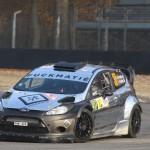 Lorenzo Bertelli (ITA) Lorenzo Granai (ITA) Ford Fiesta WRC - Rally Show Monza (ITA) 23-25 11 2012