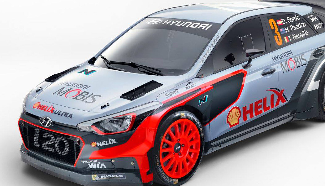 Hyundai : une nouvelle i20 WRC dans la course aux titres