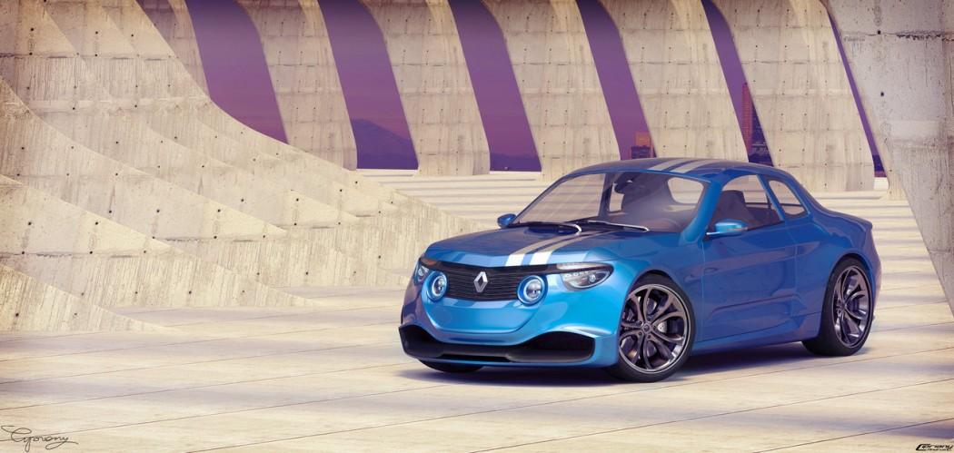 renault 8 gordini concept cipriany - 1