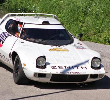 Erik Comas engagé en Championnat d'Europe des Rallyes Historiques 2016, au volant d'une Lancia Stratos Zenith