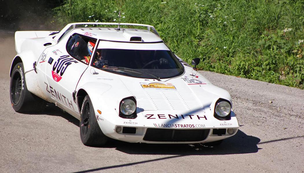 L'Europe historique pour Erik Comas et la Lancia Stratos