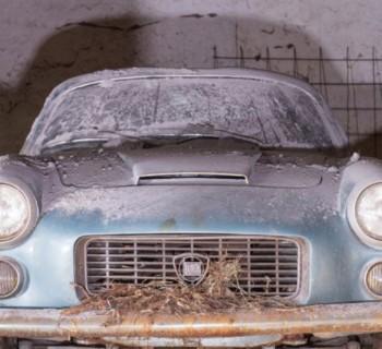 Sortie de grange - Lancia Flaminia Sport Zagato 2800 - Vente Artcurial - Retromobile 2016