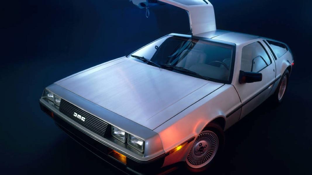 C'est une vraie ta DeLorean?