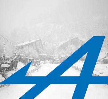 Col de Turini - Rallye Monte-Carlo 2014 - Alpine reveal