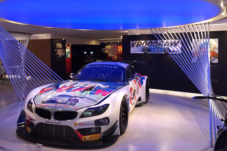 Michel Vaillant Art Strips BMW George V Paris