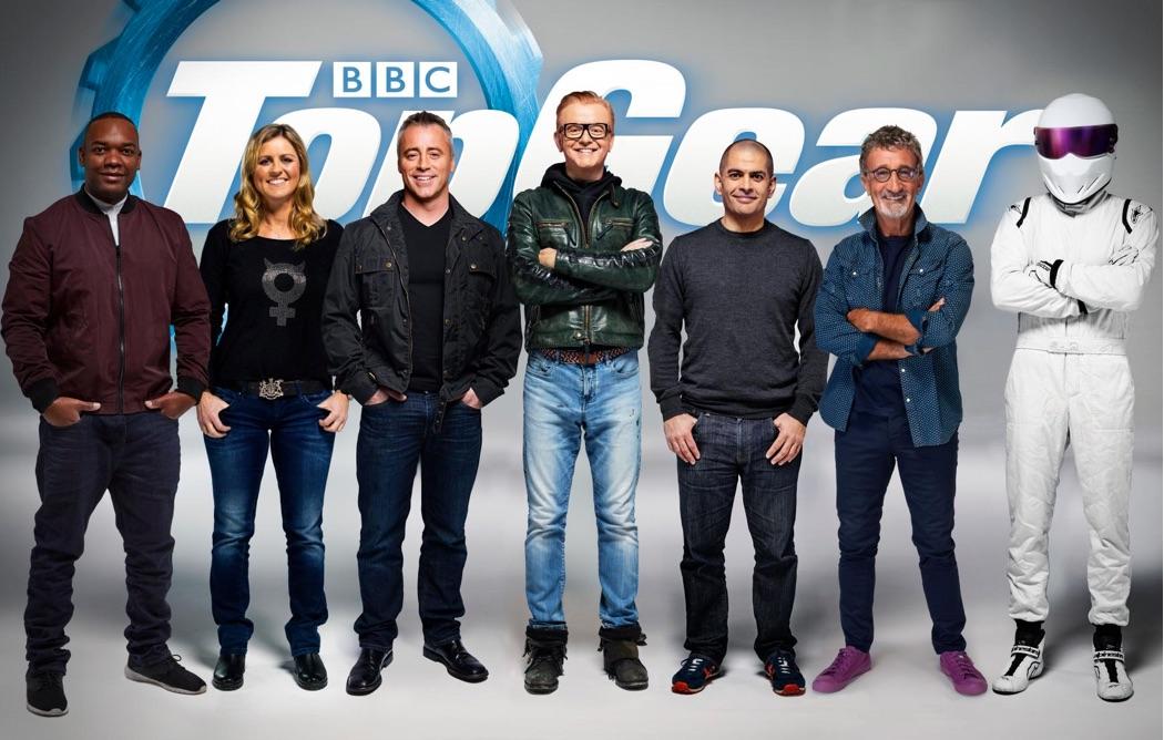Et voici l'équipe du nouveau Top Gear!