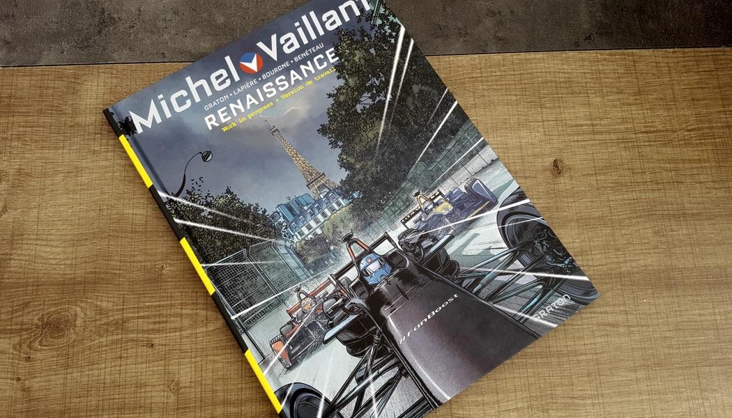 Renaissance – Work in progress: Michel Vaillant en Formula E!