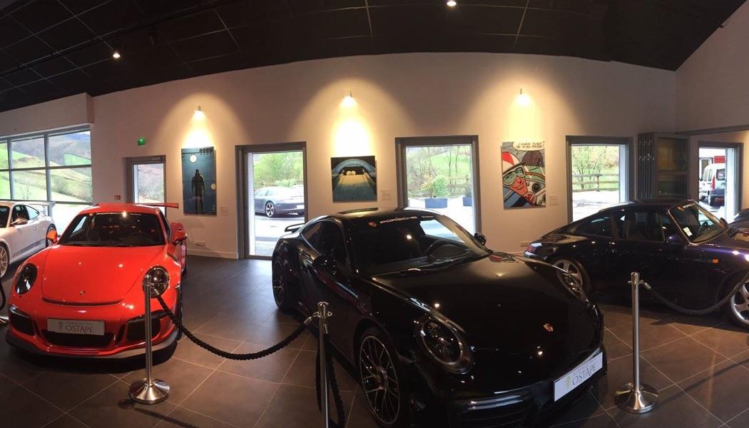 Un musée Porsche ouvre à Bidarray
