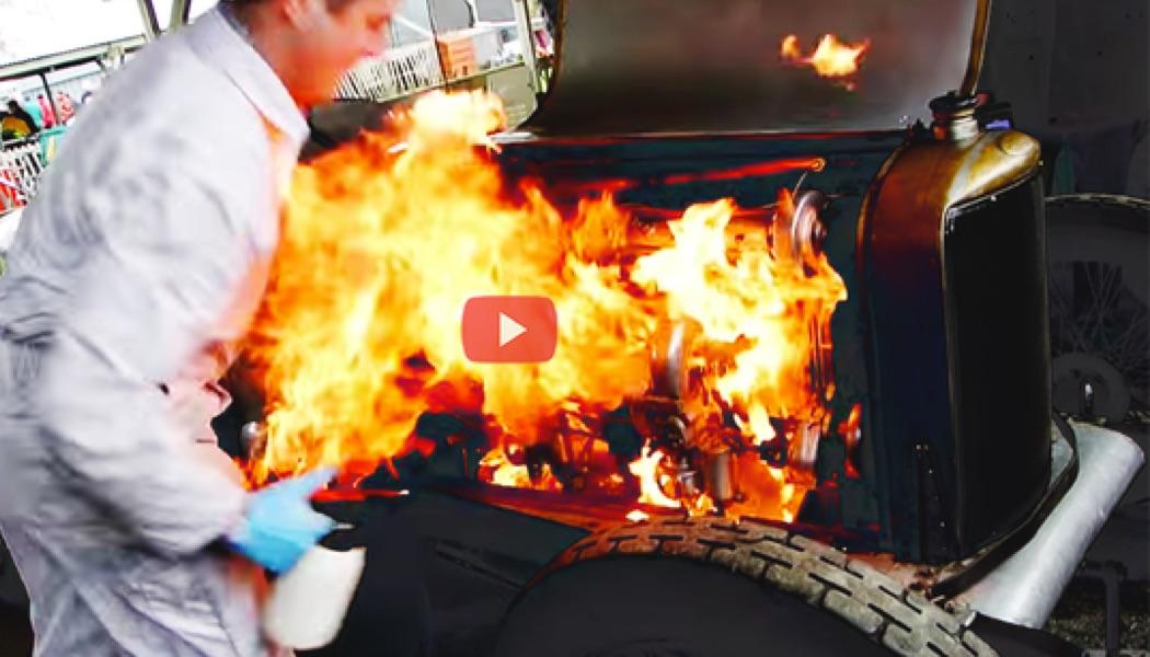 Que faire lorsque votre voiture prend feu ?