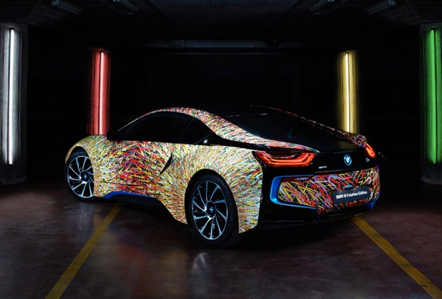 BMW Italia BMW i8 Giacomo Balla Garage Italia Customs BMW art car header