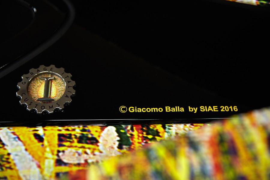 W Italia BMW i8 Giacomo Balla Garage Italia Customs BMW art car 05