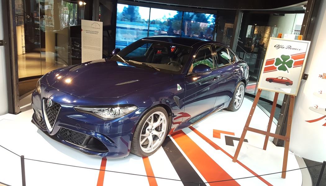 Contact: Alfa Romeo Giulia