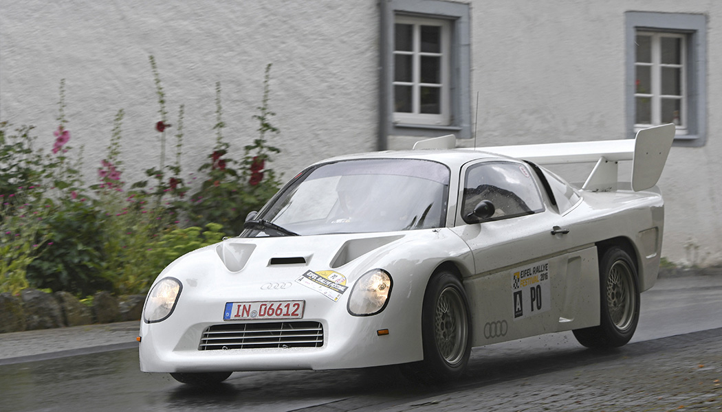 Audi quattro Sport RS 002 Groupe S : l'inconnue d'Ingolstadt