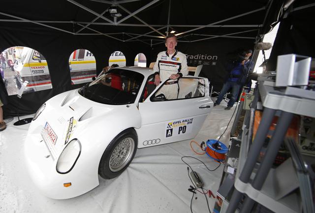 Audi Quattro Sport RS 002 groupe S FIA - 4