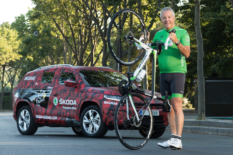 Skoda Kodiaq Tour de France 2016 Paris Champs Elysees - 11