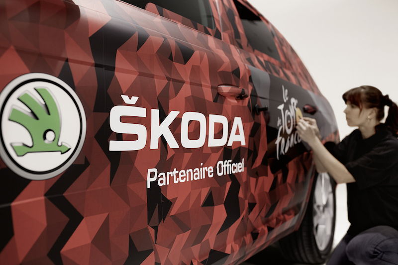 Skoda Kodiaq Tour de France 2016 Paris Champs Elysees - 2