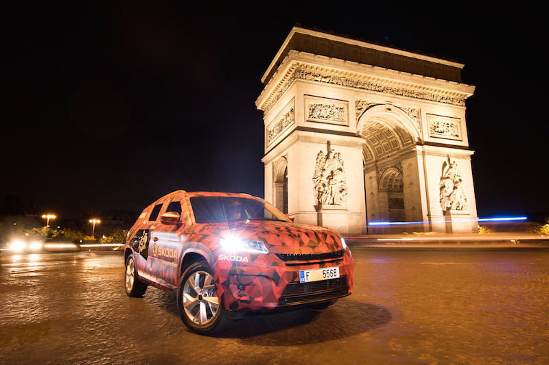 Skoda Kodiaq Tour de France 2016 Paris Champs Elysees - 6