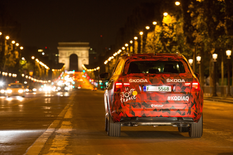 Skoda Kodiaq Tour de France 2016 Paris Champs Elysees - 8