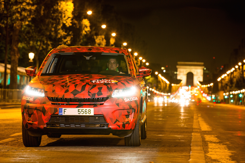 Skoda Kodiaq Tour de France 2016 Paris Champs Elysees - 9