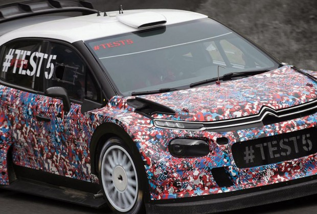 Test1 Test2 Test3 Citroën Racing C3 WRC 2017 - header