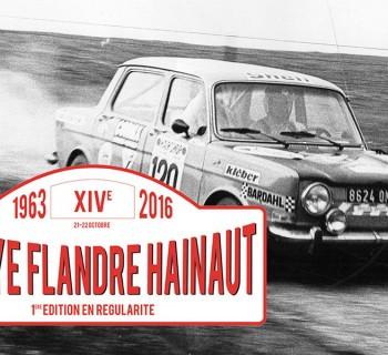 Affiche Rallye Flandre Hainaut 2016