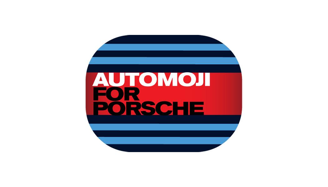 Automoji for Porsche : tout Stuttgart en émoticônes