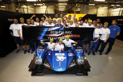 Alpine Signatech champion FIA WEC LMP2
