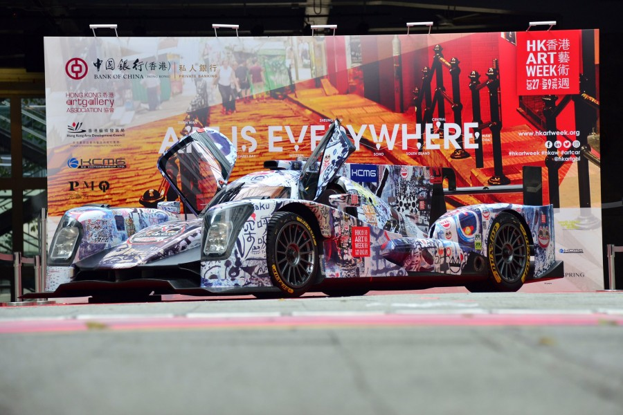 hong-kong-art-week-art-car-kcmg-oreca-05-lmp2-4