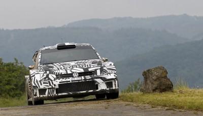 Volkswagen Polo R WRC Test Dieter Depping, Erwin Mombaerts - Volkswagen Polo R WRC 2017 - Test Baumholder 2016
