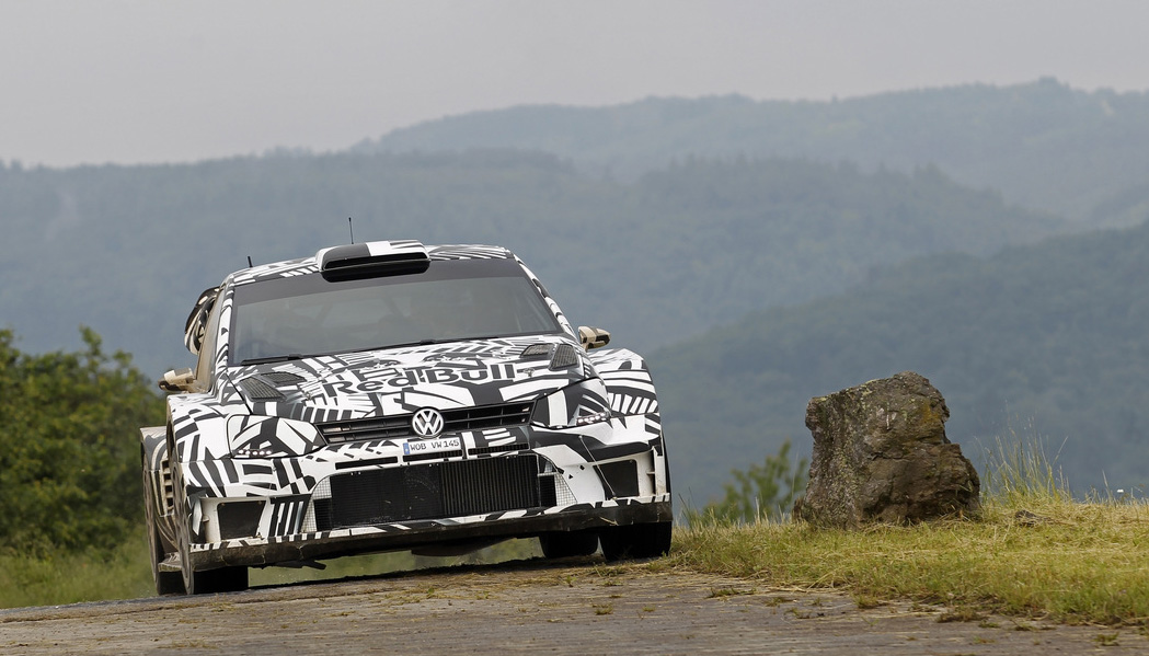Volkswagen Polo R WRC Test Dieter Depping, Erwin Mombaerts - Volkswagen Polo R WRC 2017 - Test Baumholder 2016