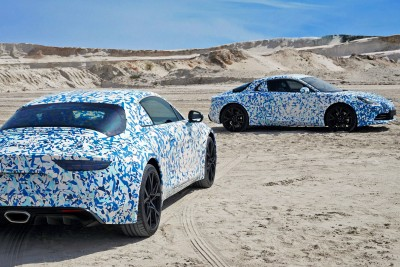 Alpine AS110 2017 Geneve Aluminium Retromobile news info révelation alpine vision