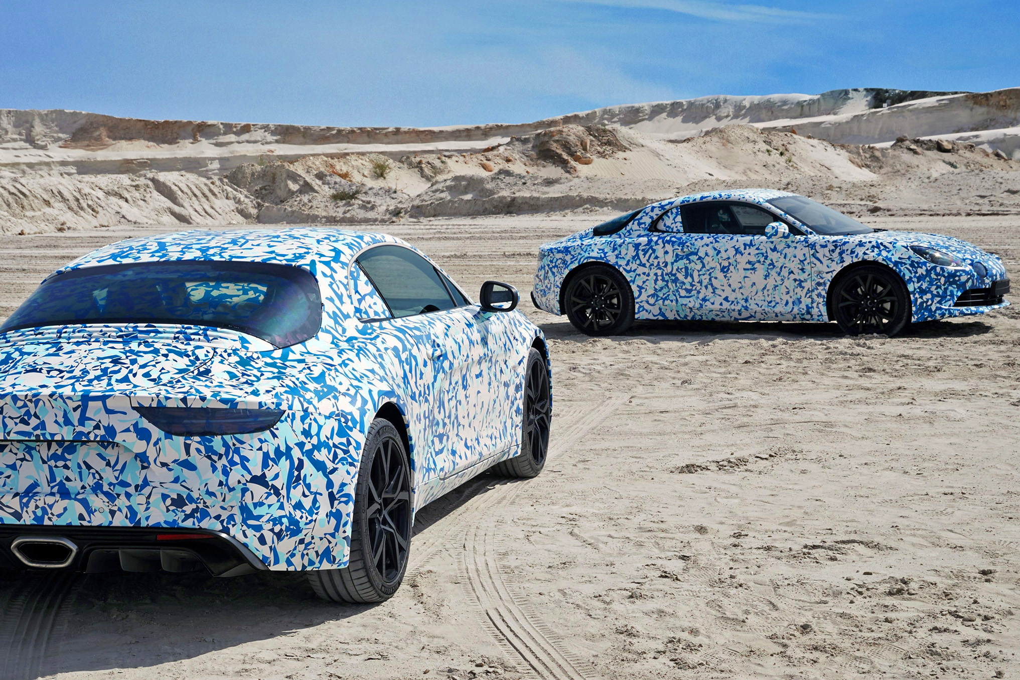 Alpine AS110 2017 Geneve Aluminium Retromobile news info révelation alpine vision