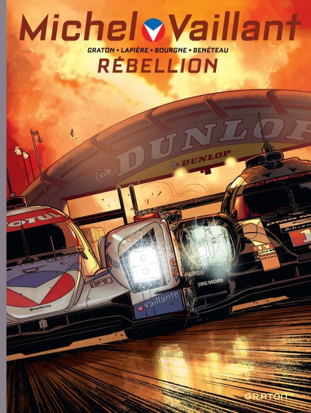 Michel Vaillant 24 heures du Mans 2017 Rebellion BD comics