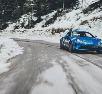 Premiers clichés Alpine A110 Première Edition 2017