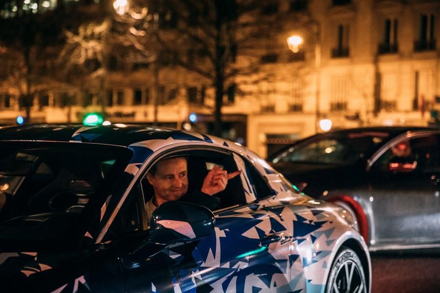 Prototype Alpine dans les rues de Paris - Studio Alpine Boulogne-Billancourt - 012