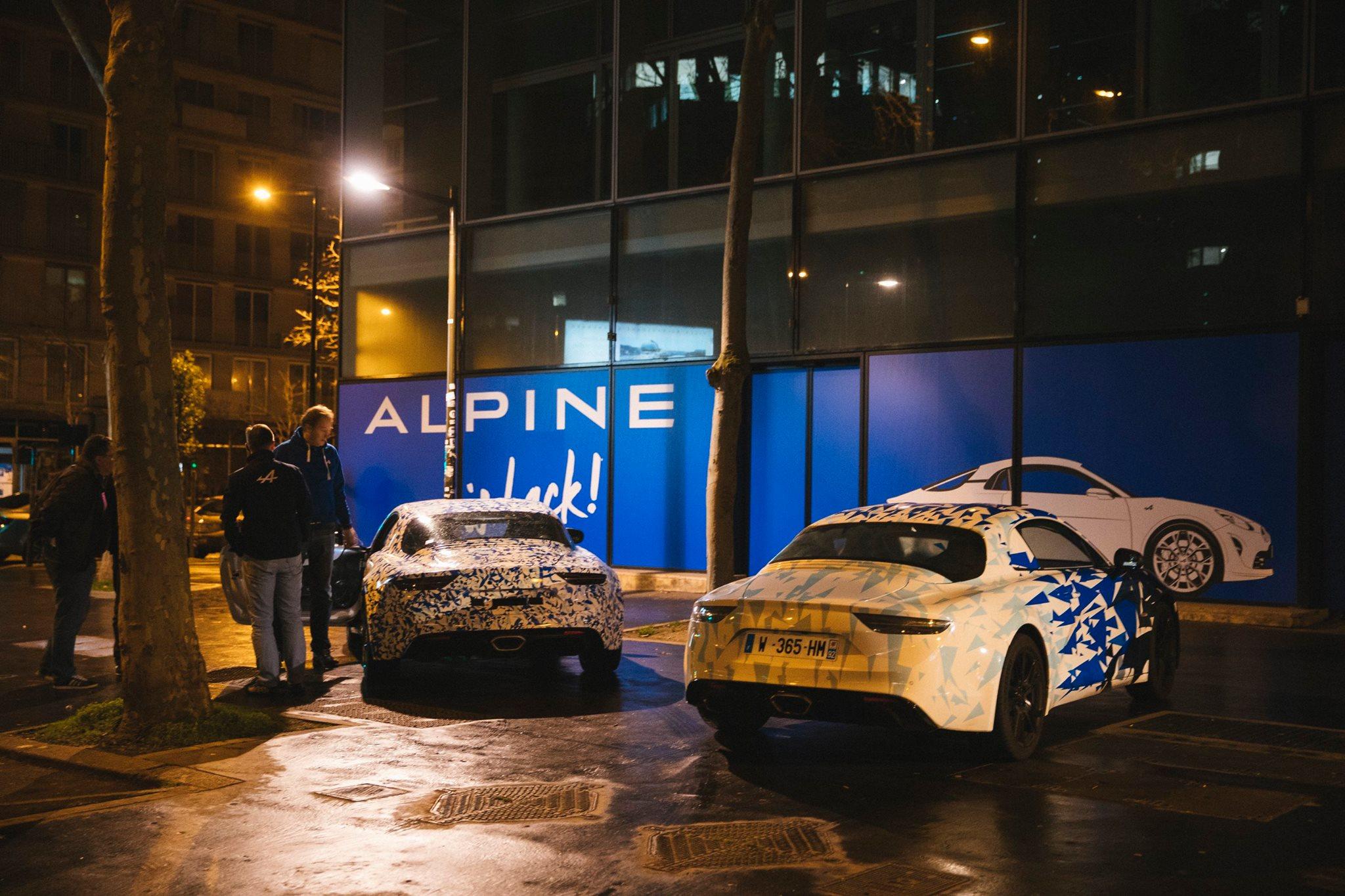 Prototype Alpine dans les rues de Paris - Studio Alpine Boulogne-Billancourt - 015