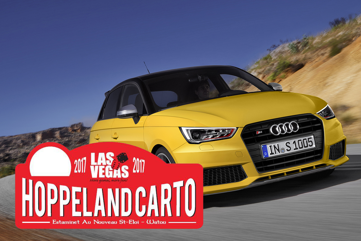 AUTOcult au Hoppeland Rally Carto 2017 avec Audi France. #AudiHoppeland