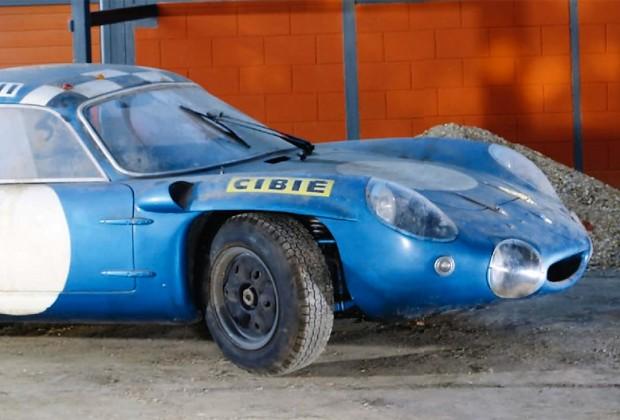 Alpine A210 Gerard Gombert La Gombe vente enchere 24 heures du mans 1967 1968 1969