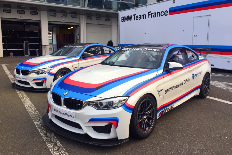 BMW M comme Magny-Cours - BMW M4 GT4 European Series Southern Cup