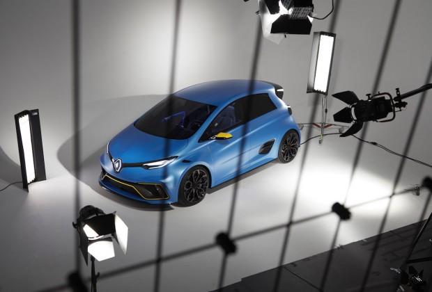 Renault ZOE e-Sport Concept : l'éclair de Genève