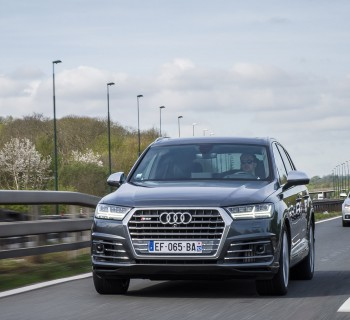 Audi Sport Experience 2017 - Audi SQ7 test drive - essai audi sq7