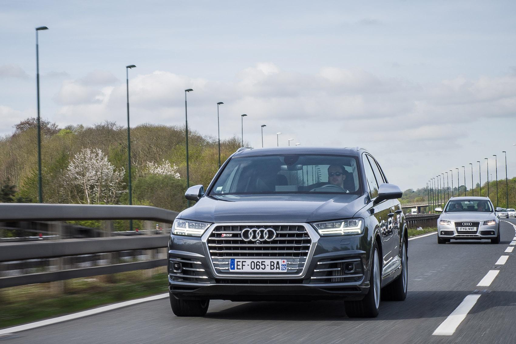 Une heure pour un essai : Audi SQ7 V8 TDI