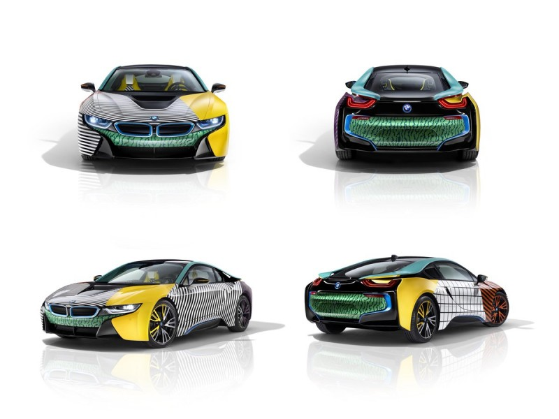 Garage Italia Customs Memphis Design BMW i3 BMW i8 Art Car - 20