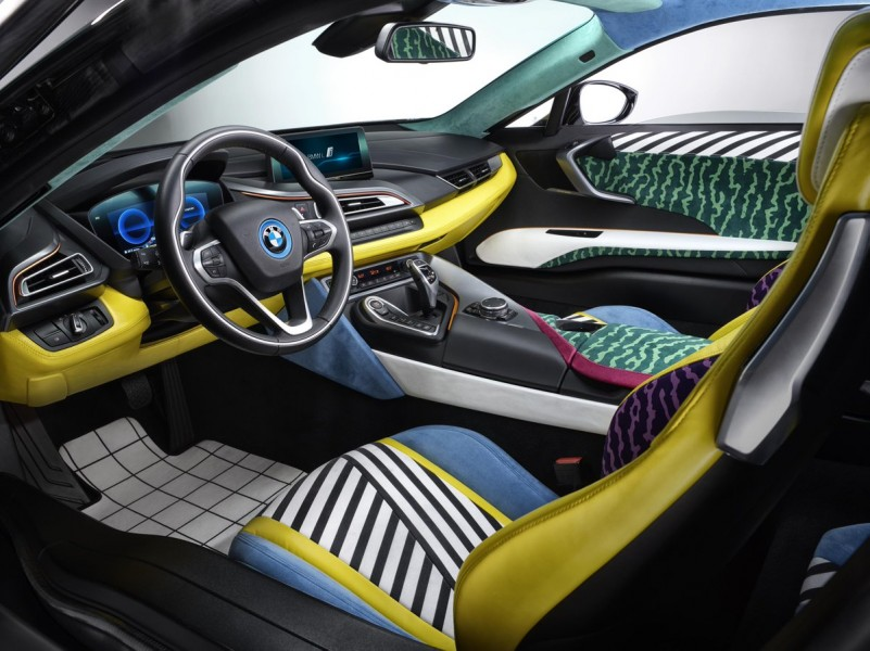 Garage Italia Customs Memphis Design BMW i3 BMW i8 Art Car - 22