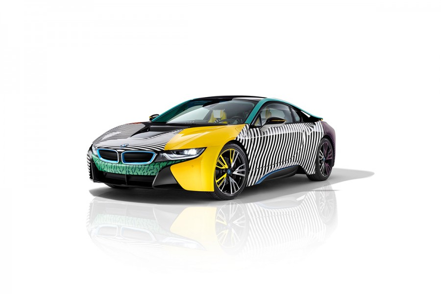 Garage Italia Customs Memphis Design BMW i3 BMW i8 Art Car - 25