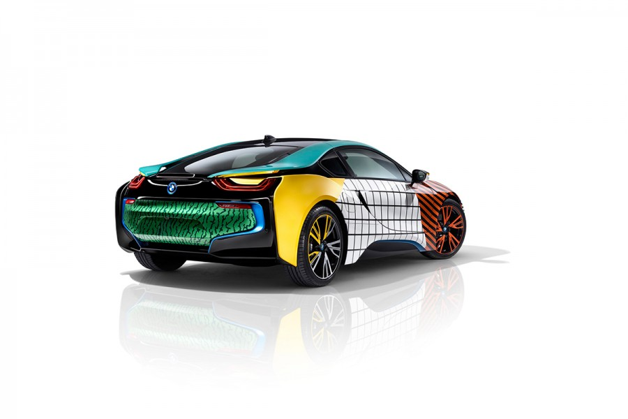 Garage Italia Customs Memphis Design BMW i3 BMW i8 Art Car - 26
